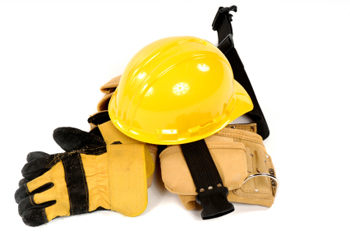Image of Hard Hat and Equipment